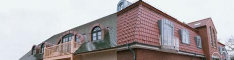 Ein Vorher Nachher Vergleich eines Daches